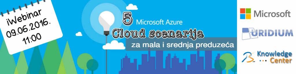 Microsoft Azure scenarija
